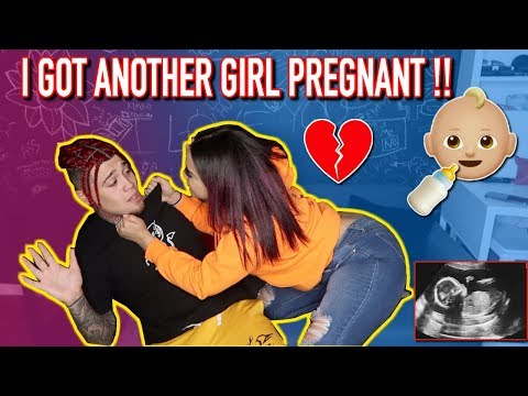 I GOT ANOTHER GIRL PREGNANT PRANK ON GIRLFRIEND! (GONE WRONG)