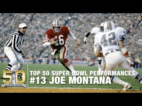 #13: Joe Montana vs. the Dolphins | Top 50 Super Bowl Performances