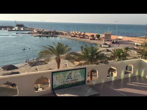 Bahrain beach resort 4 swiming