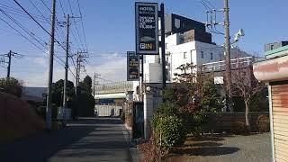 東名横浜町田インター周辺のホテル街を歩いて見た。