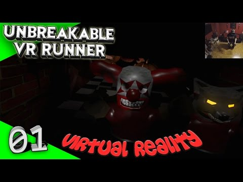 Unbreakable Vr Runner - #01 - Halloween Special [Let's Play][Gameplay][HTC Vive][Virtual Reality]