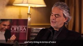 Andrea Bocelli - AMOR TI VIETA - Fedora (Commentary)