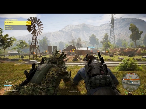 Ghost Recon Wildlands Closed Beta: Part 1 - The Co-op Mode
