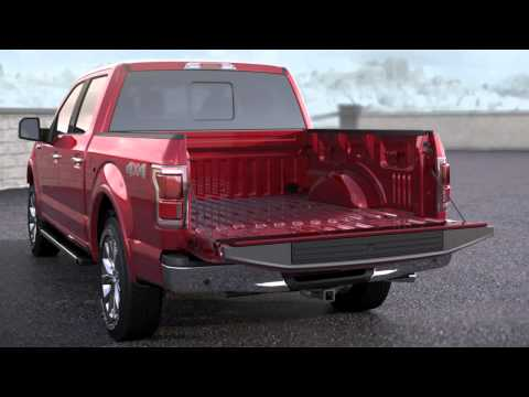 Ford F150: Remote Power Tailgate Release