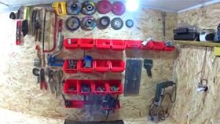 Мій гараж.Ремонт та прибирання гаража.Repair in the garage.Облаштував гараж під домом.Стало затишно