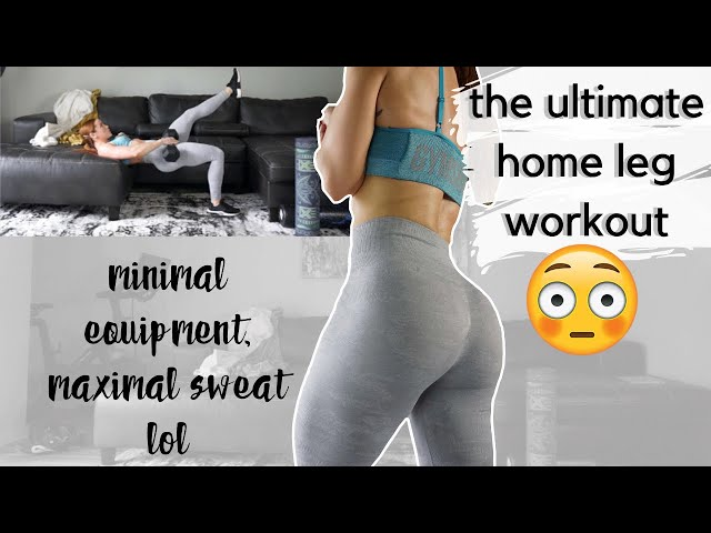 THE HOME LEG WORKOUT YOU NEED TO TRY | FULL FOLLOW ALONG | 30 MIN