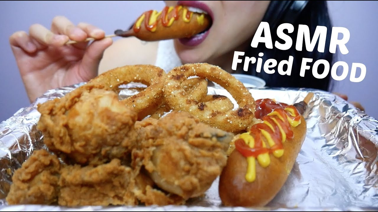 Asmr Ultimate Fried Food Onion Rings Fried Chicken Corndogs No Talking Eating Sounds Sas Asmr Youtube #chicken #friedchicken #kfc #kfcthailand #asmr #mukbang #asmrmukbang #asmreatingshow #eatingsounds #letseat #asmrsounds #asmrsatisfyingsounds #asmrcommunity #asmrfood. asmr ultimate fried food onion rings fried chicken corndogs no talking eating sounds sas asmr