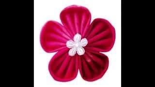 Clover Kanzashi Flower Maker Demonstration