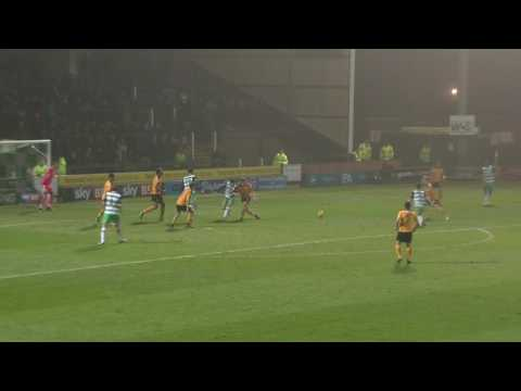 HIGHLIGHTS: YEOVIL TOWN 1-1 CAMBRIDGE UNITED