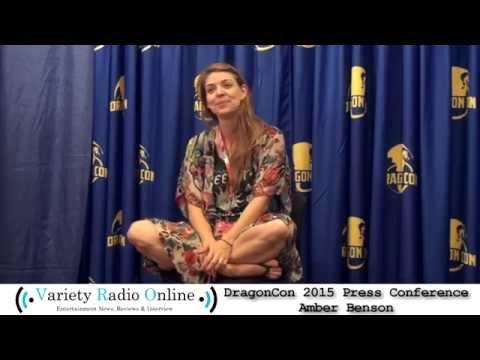 Amber Benson  Dragon Con 2015  Variety Radio Online