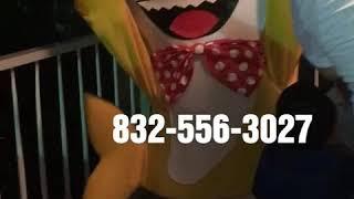 Show infantil en Houston Texas- show infantil baby shark Houston Texas, Botarga's