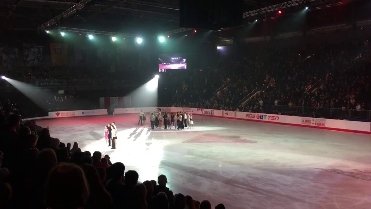 2018 Canadian Olympic Figure Skating Team Announcement at the National Championships