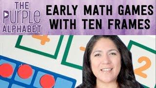 EASY PRESCHOOL Math : Ten Frame Activities