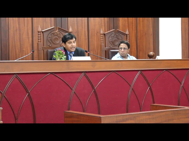 Adv. Puneet Chaturvedi on  'Constitutional Law