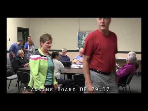 Planning Board 08.29.17