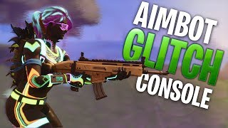 Aimbot Glitch! - Fortnite CONSOLE
