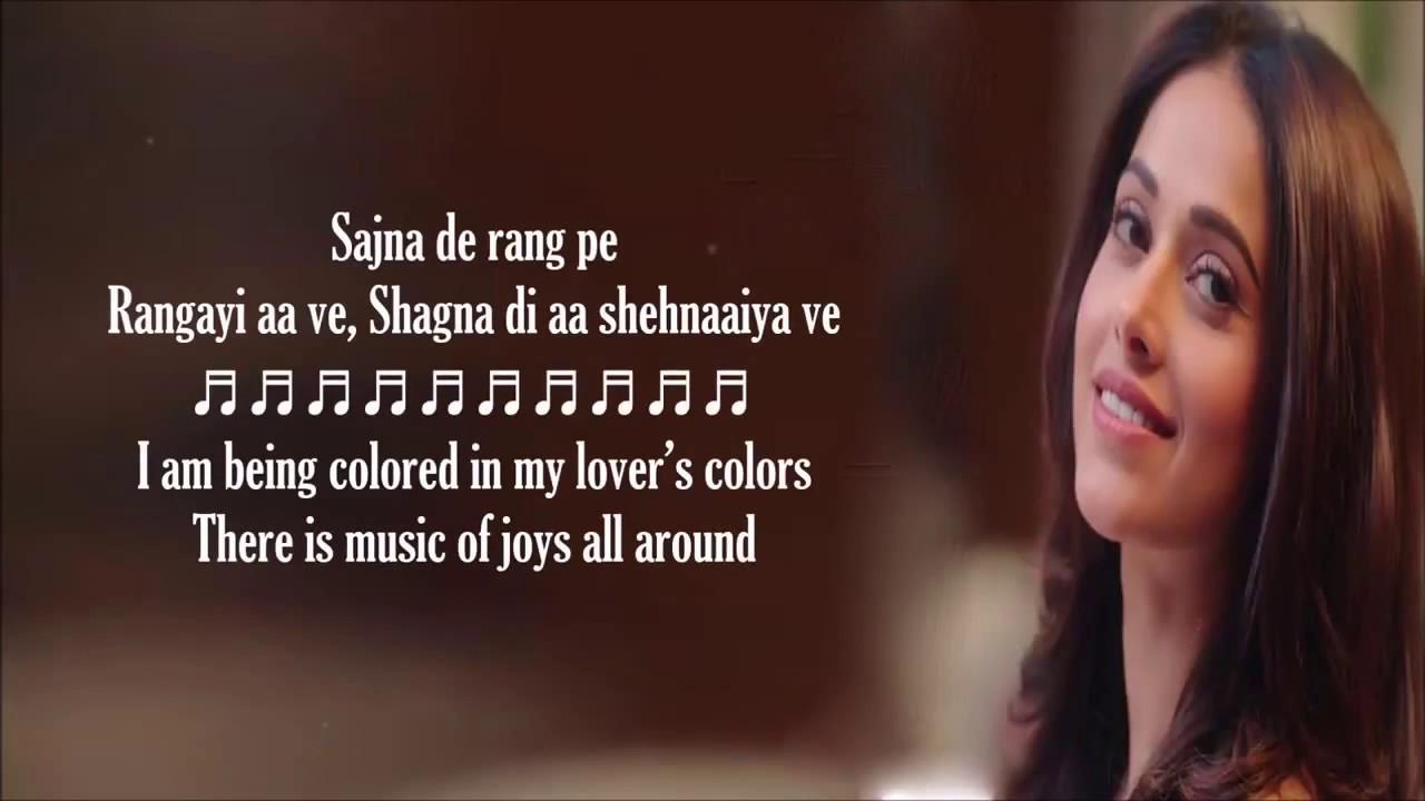 Tera Yaar Hoon Main - Arijit Singh & Rochak Kohli - Lyrics With English  Translation