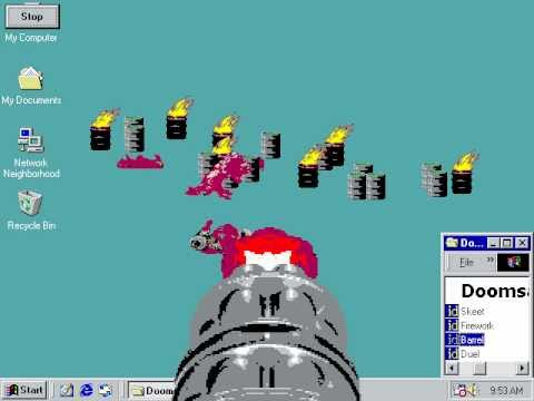 Doom 2 Official Screen Saver - Demonstration