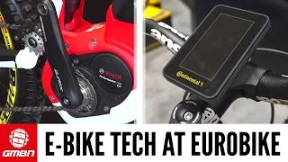 E-Bike Technology | Eurobike 2016