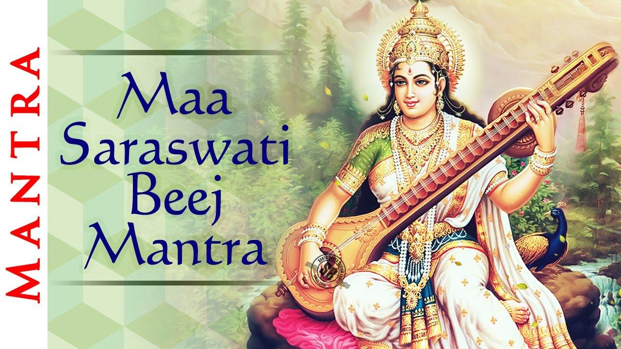 maa saraswati beej mantra mantra greater wisdom