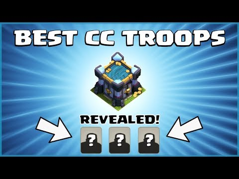 BEST TH13 CC TROOPS - TOP TOWN HALL 13 Clan Castle Troops For DEFENSE! - Clash Of Clans