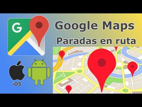 Como crear ruta con varias paradas o destinos en Google Maps. (Android e iOS)
