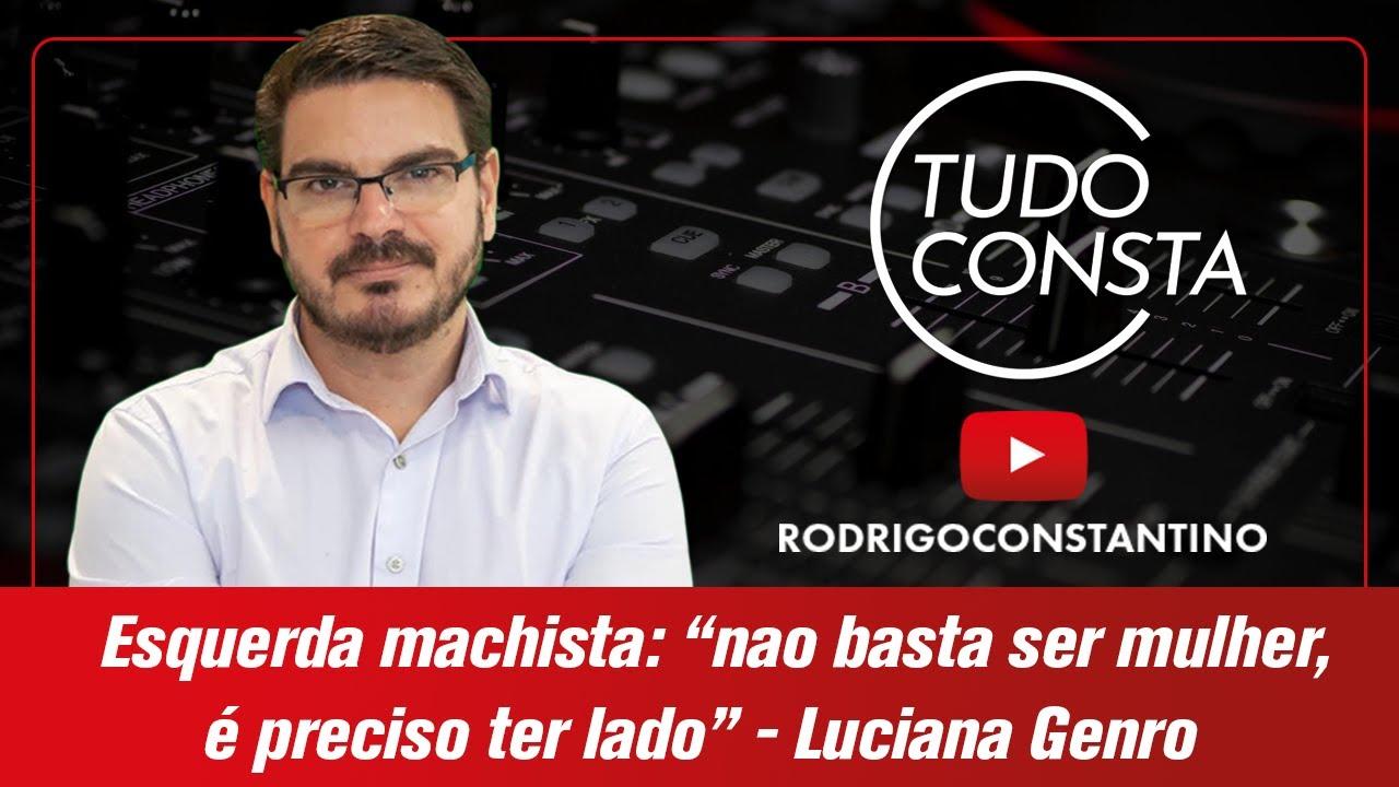 """Resultado de imagem para Esquerda machista: """"não basta ser mulher, é preciso ter lado"""" - Luciana Genro"""