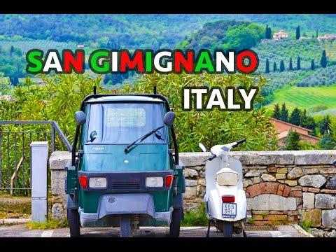 Ancient San Gimignano, Italy: Travel Guide, Tourism / Tuscan Italien: Reiseführer, Tourismus