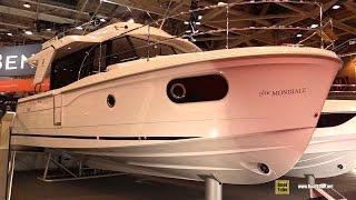 2016 Beneteau Swift Trawler 30 - Deck and Interior Walkaround - 2015 Salon Nautique de Paris