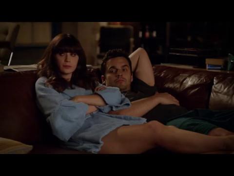 New Girl: Nick & Jess 3x04 #12 (Jess: Nick is my sexy monk)