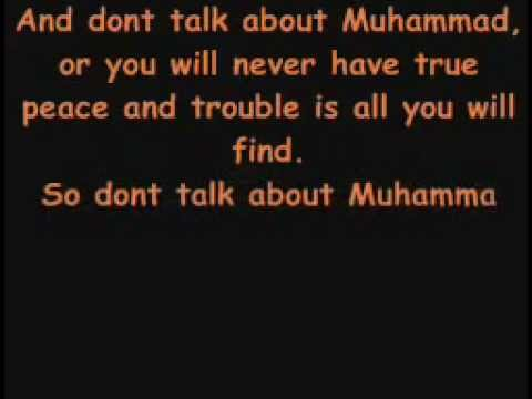 Don't Talk To Me About Muhammad