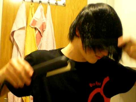 emo hair styles men make hair for guys 3860 | hqdefault