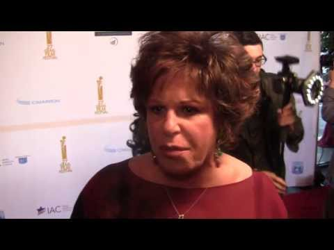 Lainie Kazan on Jews in Hollywood  at the Israel Film Festival 00133