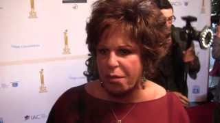 Lainie Kazan on Jews in Hollywood - at the Israel Film Festival (00133)