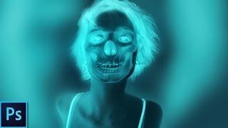 إنشاء X-Ray تأثير الجمجمة - Photoshop Tutorial