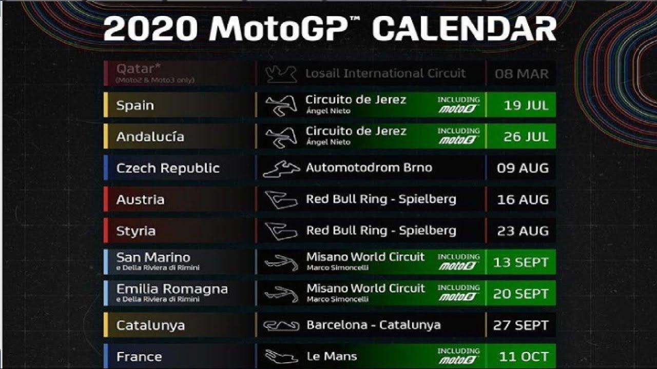 2020 jadwal motogp