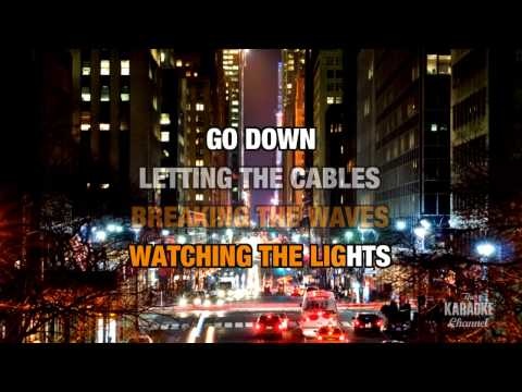 Letting The Cables Sleep in the style of Bush | Karaoke with Lyrics