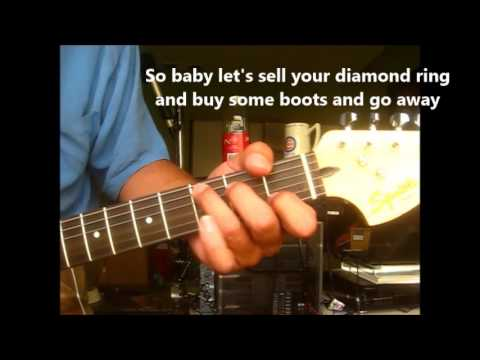 Luckenbach Texas (Back To The Basics Of Love)  ~ lesson Waylon Jennings