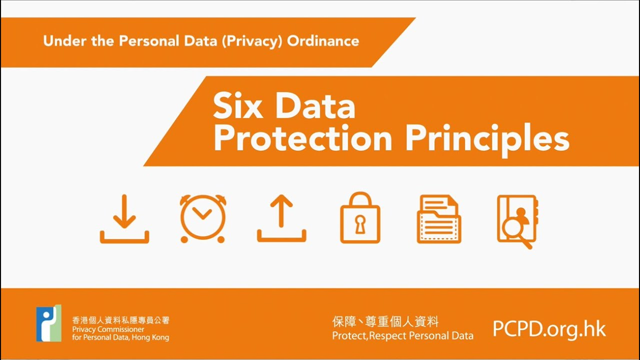 The Six Data Protection Principles Under Personal Privacy Ordinance