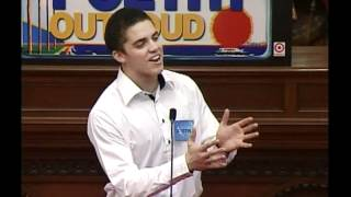 Poetry Out Loud Austin Carr Solano County Round 3