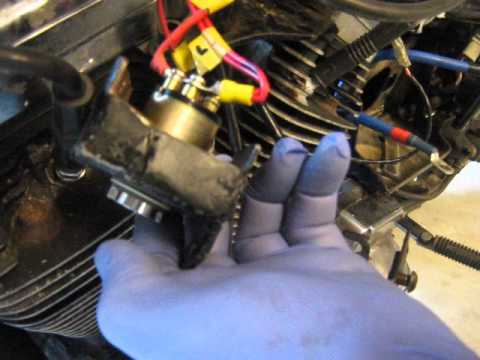 evo sportster ignition switch install  YouTube