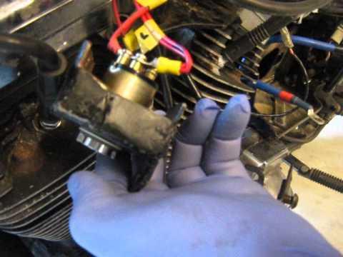 2003 Harley Davidson Fuse Box Evo Sportster Ignition Switch Install Youtube