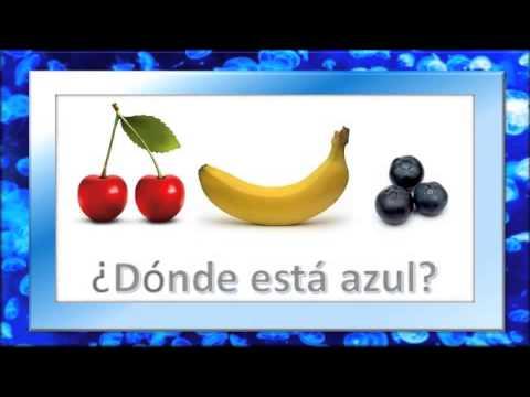 Cancion del Color Azul / Preescolar - YouTube