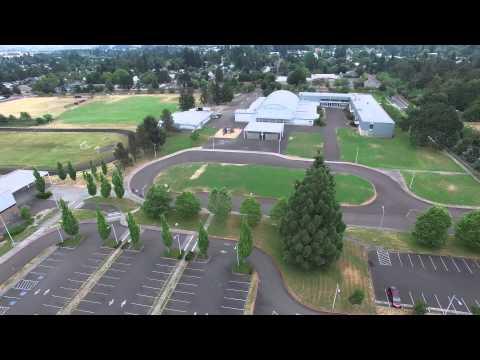 DJI Phantom 3 Professional - Tom McCall Upper Elementary School - 4K @ 30FPS