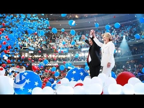 Hillary Clinton Basks in Historic Moment | Democratic Convention | The New York Times