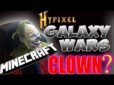 CLOWN SIGHTING / MINECRAFT HYPIXEL GALAXY WARS / PARTY LOBBY