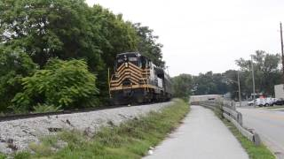 Indiana State Fair Train on the old NKP Line