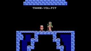 Kid Icarus NES - All Game Endings
