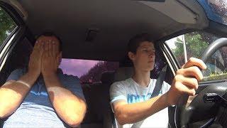 Автошкола.Ютюбер Булик учится водить.. #автошкола #инструктор #булик #краснодар #формула