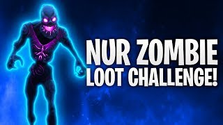 NUR ZOMBIE LOOT CHALLENGE! 🧟 | Fortnite: Battle Royale